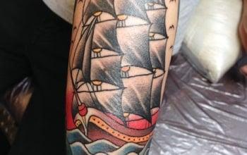 アメリカントラディショナル 帆船(シップ)