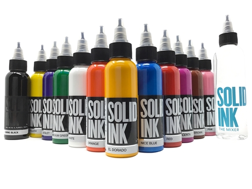SOLID INK タトゥーインク