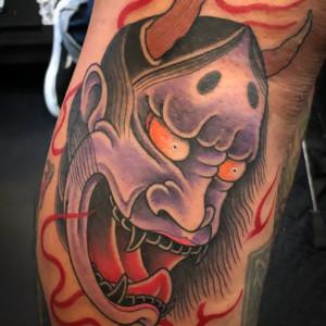 和彫り|般若のタトゥー/刺青